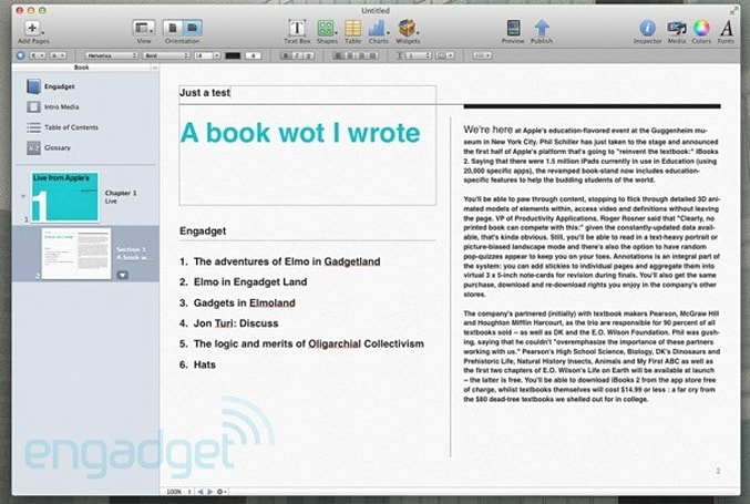 iBooks Author gets new EULA, aims to clear writer's block