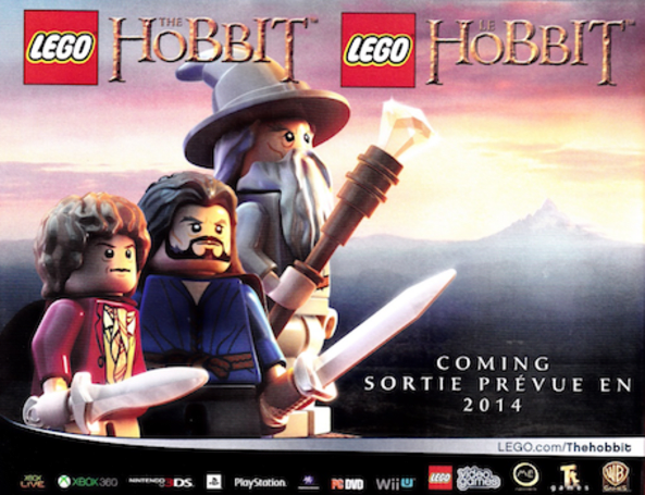 Report: LEGO The Hobbit slated for 2014 release