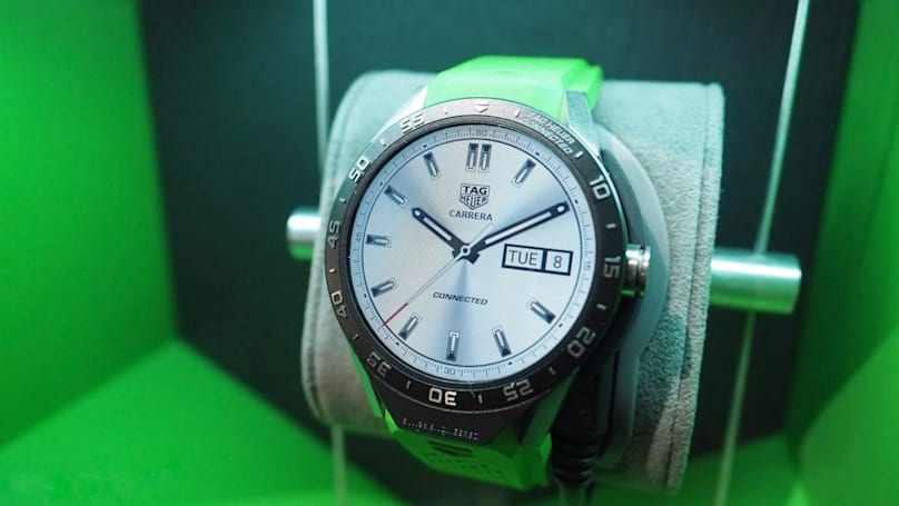 TAG Heuer's Android smartwatch is (relatively) popular