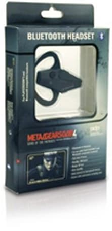 Metal Gear Solid 4 Bluetooth headset now shipping to ears everywhere