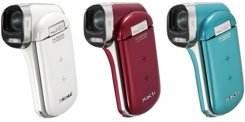 Sanyo's DMX-CG100 and DMX-GH1 camcorders do 1080p up in here