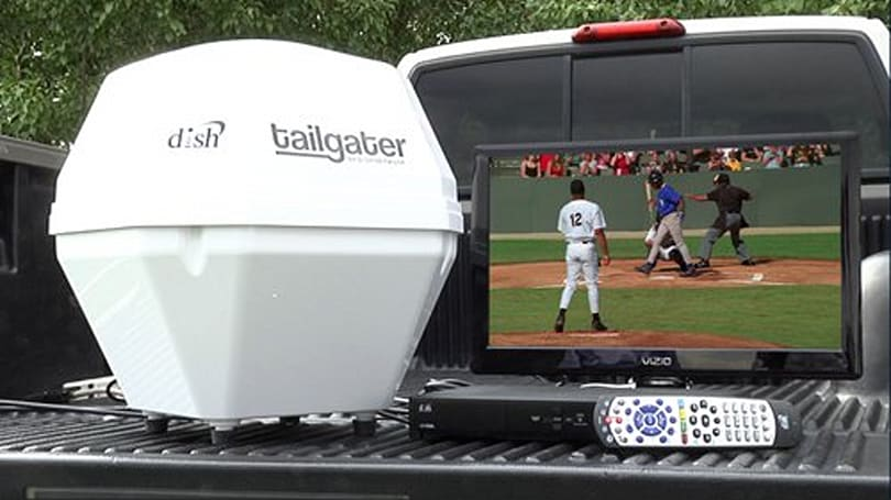 Dish Network's Tailgater brings you portable satellite TV, won't cool your beer (video)