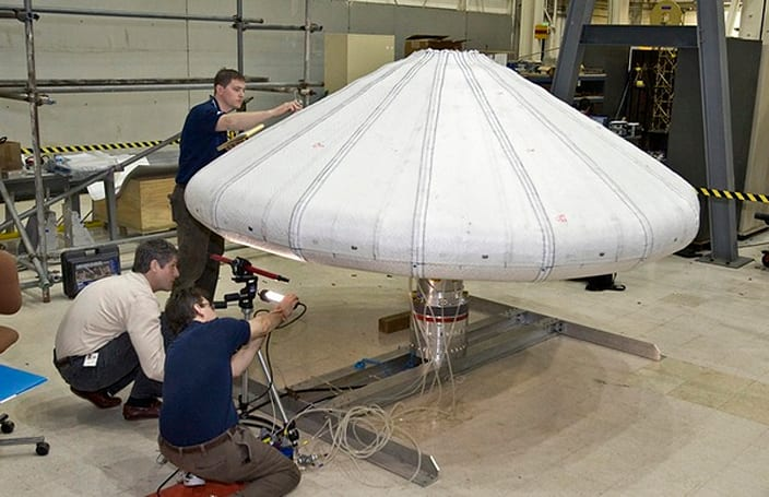 Video: NASA rockets inflatable heat shield 124 miles up, deploys it successfully