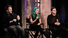 Hannah Marks, Michael Johnston And Clay Liford Talk About Fitting In While Growing Up