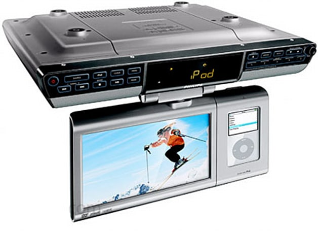 Philips's new DCD778 kitchen iPod media appliance