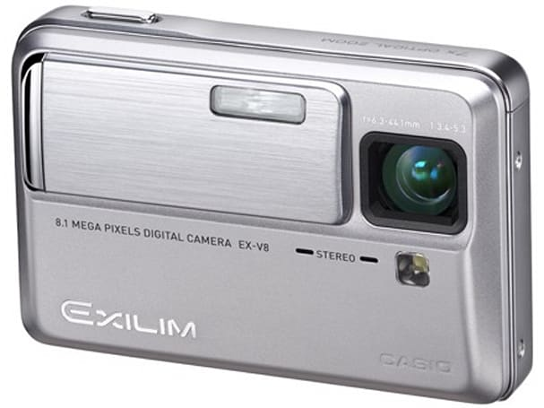Casio Exilim EX-V8 reviewed