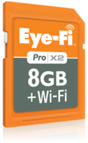 Eye-Fi Pro X2 cards have arrived, and you probably want one