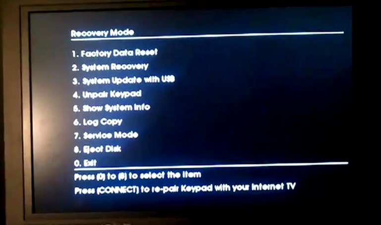 Sony Google TV booted into recovery mode, are we days away from a root? (video)
