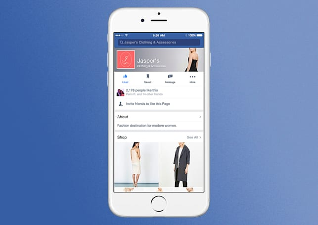 Facebook wants you to shop inside its store pages