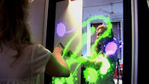 Interactive Mirror dazzles onlookers, never lies