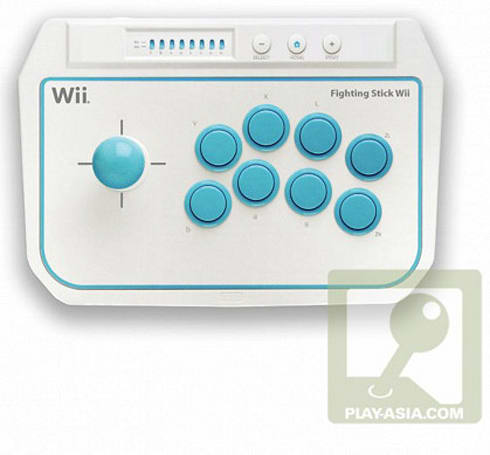 Hori's Fighting Stick Wii joystick to head stateside