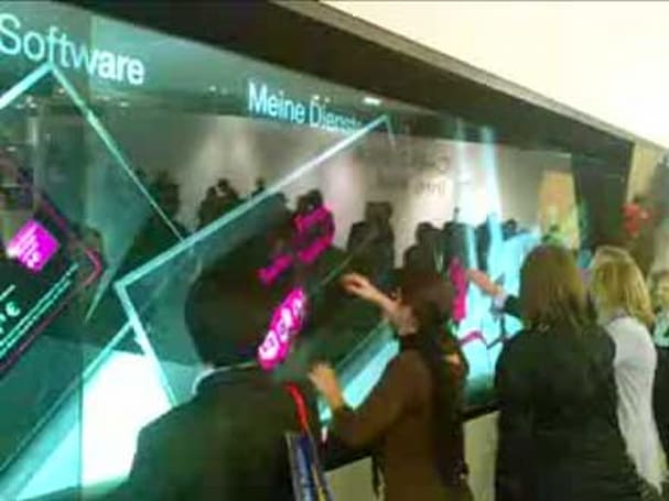 Minority Report-like interface gets demoed at CeBIT