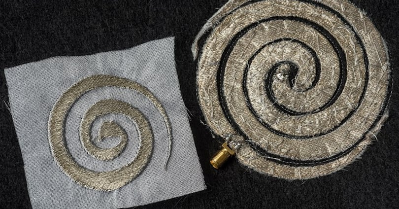 Stitch circuitry into your shirt for a better cell signal