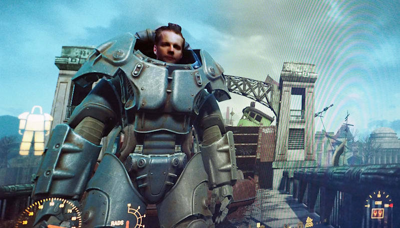 Intel's RealSense camera made me the star of 'Fallout 4'