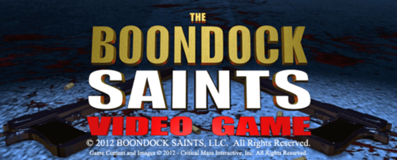 Boondock Saints game a 'full-on co-op shooter,' maybe episodic