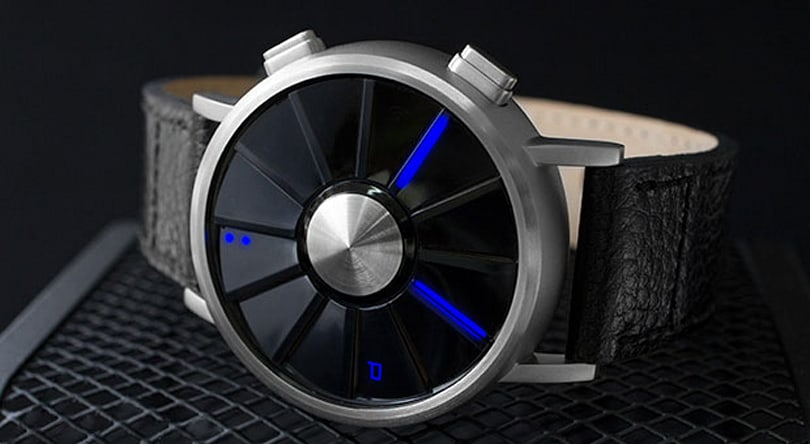 Tokyoflash's Kisai Blade looks to the air for inspiration, tells time with tube LEDs (video)