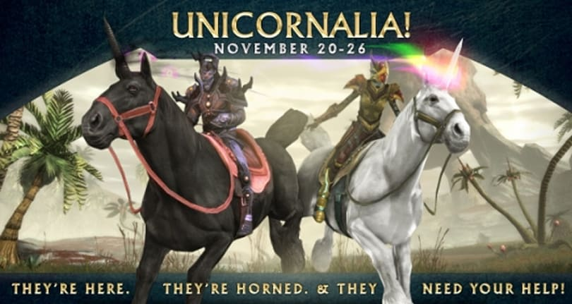 RIFT brings back Unicornalia