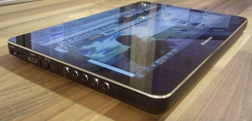 Hanvon's multitouch tablet previewed, surfaces in China March 25th with 1080p playback