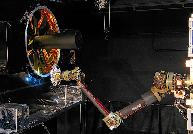 How the Navy's orbiting robots will refurbish civilian satellites