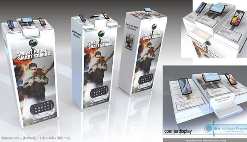 Sony Ericsson's Xperia Play retail booths exposed