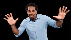 "Dhani Jones on ""Spartan: Ultimate Team Challenge"""