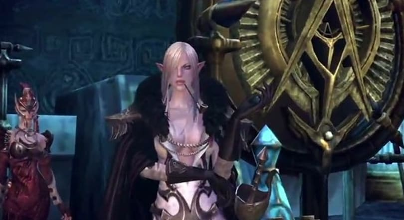 TERA's High Elves strut their stuff in a high-octane video
