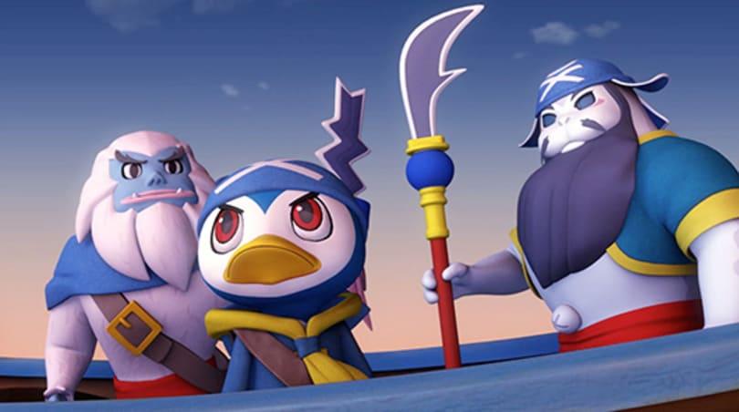 Mega Man designer's Kaio: King of Pirates docks in 2014