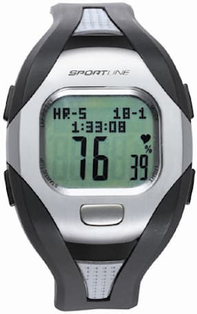 Sportline's Solo 960 watch packs heart rate monitor, pedometer