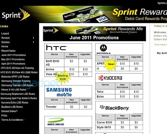 HTC EVO View 4G (Flyer) headed to Sprint on June 24th