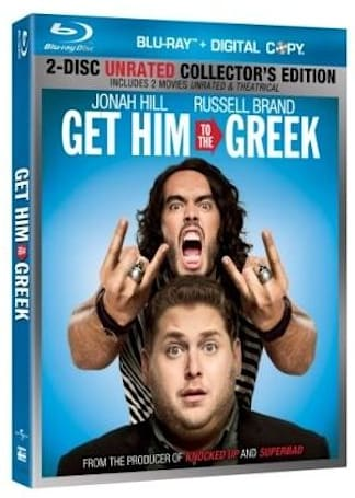 Get Him to the Greek Blu-ray includes a free streaming copy -- of a different movie
