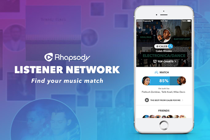 Rhapsody's Listener Network makes finding new music easier