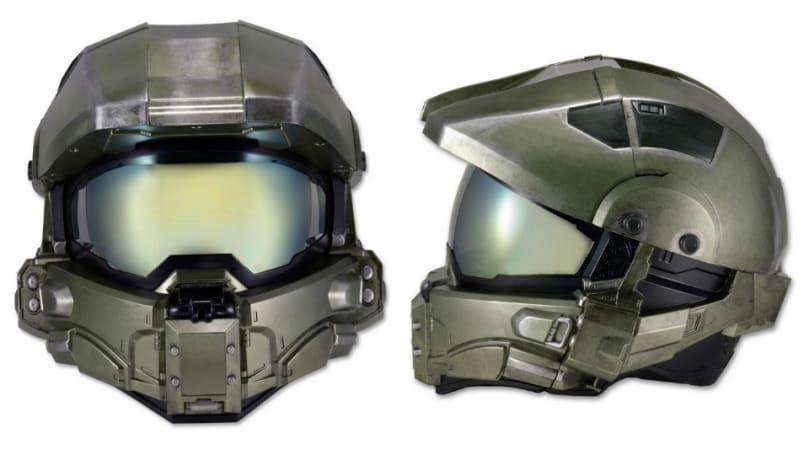 'Halo' die-hards will get their very own motorcycle helmet in July