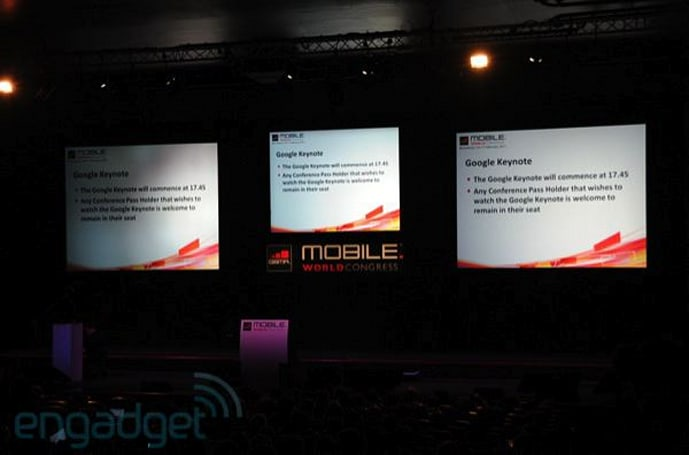 Live from Eric Schmidt's MWC 2011 keynote