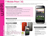 T-Mobile Prism leaked: entry-level Huawei smartphone to launch in May