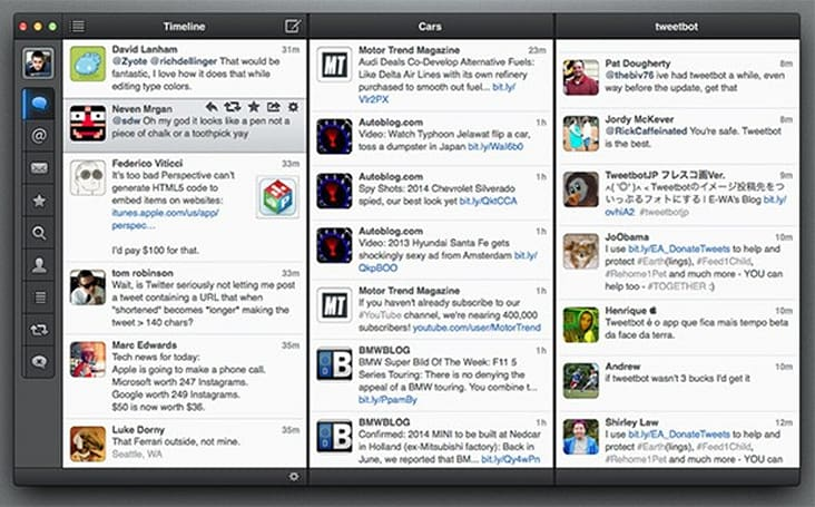 Tweetbot for Mac adds thumbnail support for Vine and Flickr