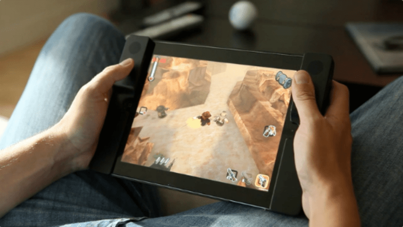 Audojo is a twin-stick iPad case on Kickstarter