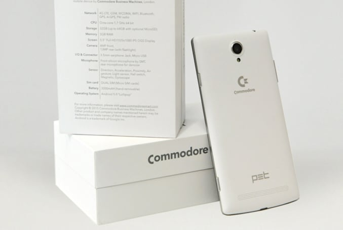 Commodore returns as a 5.5-inch, nostalgia-powered smartphone