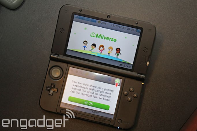Nintendo finally updates 3DS with Miiverse, Nintendo Network ID support and unified eShop wallet