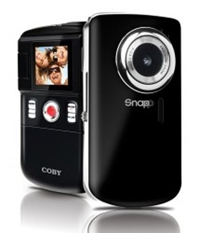 Coby intros Snapp pocket camcorders, for those with small pockets