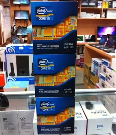 Intel Sandy Bridge CPUs and motherboards now on sale in Malaysia, what Consumer Electronics Show?