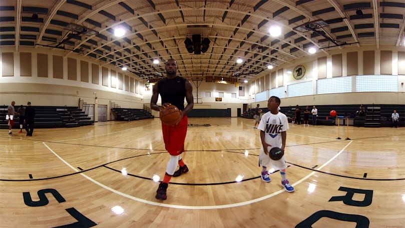 Watch LeBron James' training on your Gear VR