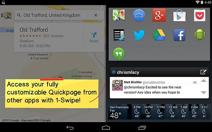Action Launcher's custom Android interface gets quick-access home screen and KitKat tweaks