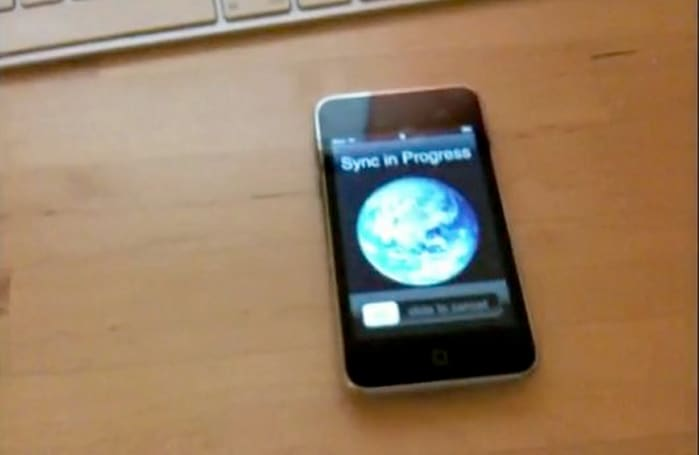 Wi-Fi Sync: wirelessly sync the iPhone with iTunes... in your dreams (video)