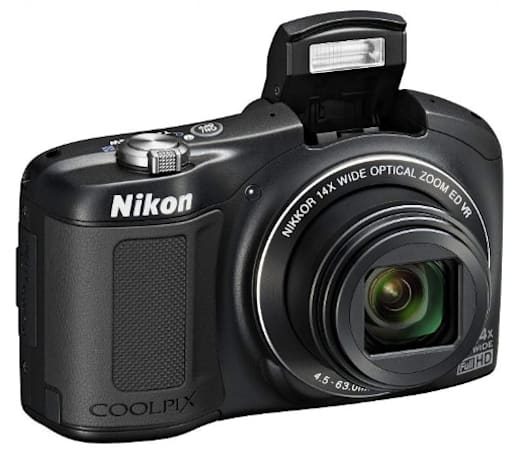 Nikon's Coolpix L620 14x superzoom ships next month for $250