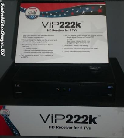DISH Network's ViP222k HD receiver now available