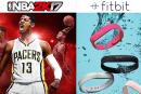 バスケゲーム「NBA 2K17」とFitbitが異例のコラボ。1日1万歩達成でプレイヤーキャラを5ゲーム分強化