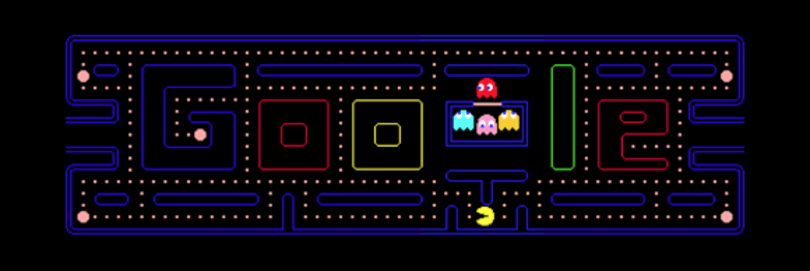 Google celebrates Pac-Man's 30th anniversary with playable logo