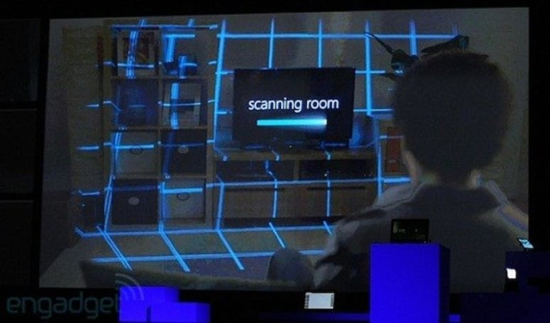 Microsoft's Illumiroom demo frees gaming from its TV cage