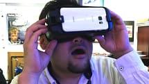動画:新Galaxy Gear VRファーストインプレッション、装着感良し。USB Type-CコネクタにNote 7の痕