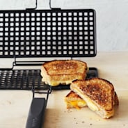 Grilled Cheese Grilling Basket with Book